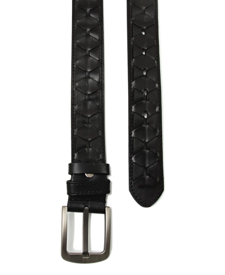 Genuine Leather Belt  - Black