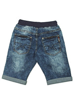 Boys Denim Short  - Dark Blue