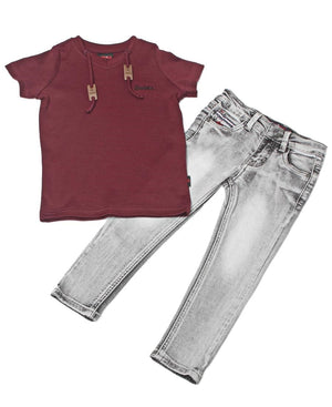 Boys Bonanza Jeans - Grey