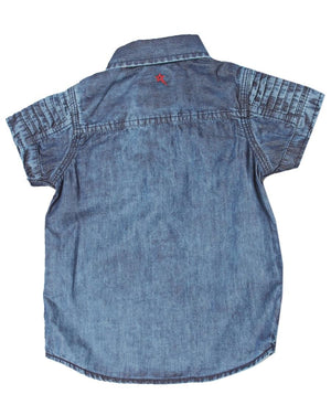 Boys Cabot Shirt - Blue