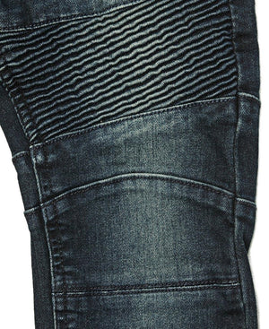 Kids Biker Jeans - Dark Blue
