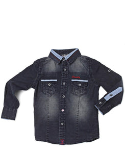 Boys Dynamite Denim Shirt - Blue