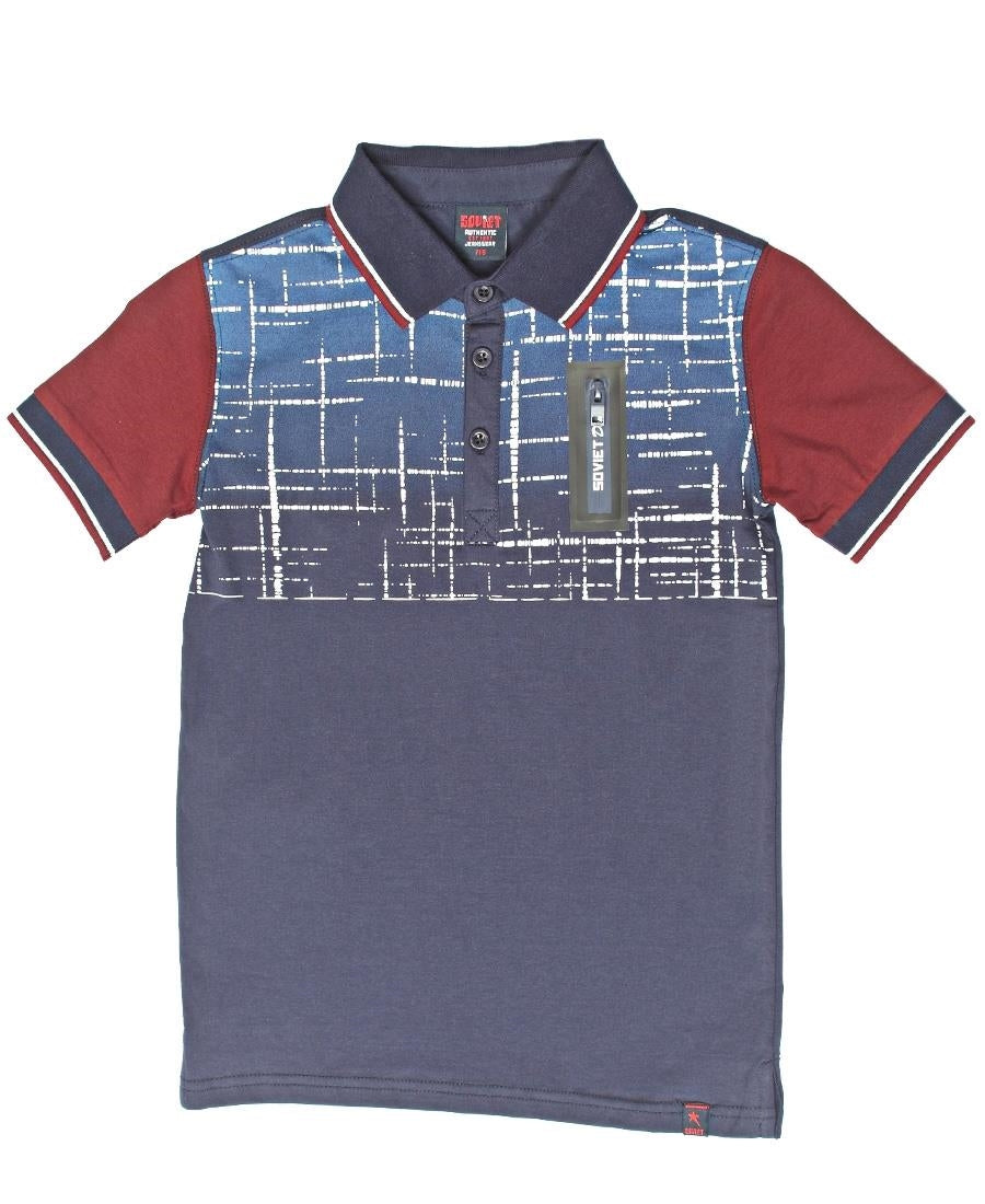 Boys Iron Golfer - Navy