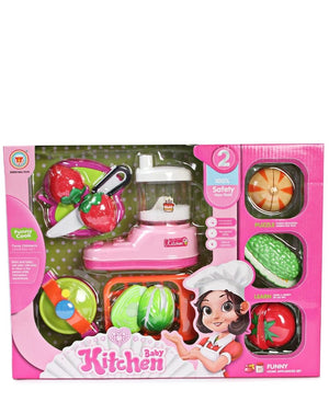 Kids Kitchen Set - Pink