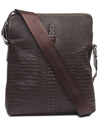 Genuine Leather Bag - Brown