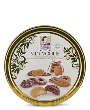 Assorted Biscuits Tin - Yellow
