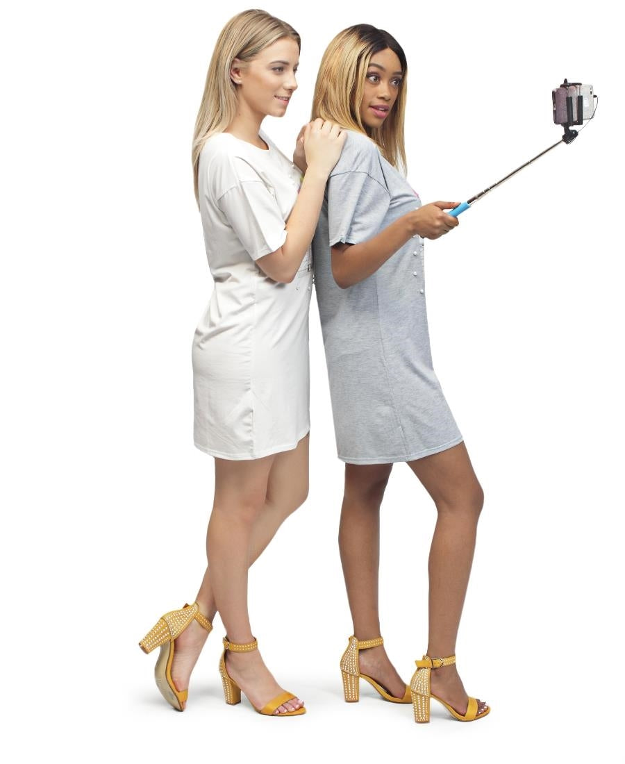 Bluetooth Selfie Stick - Blue