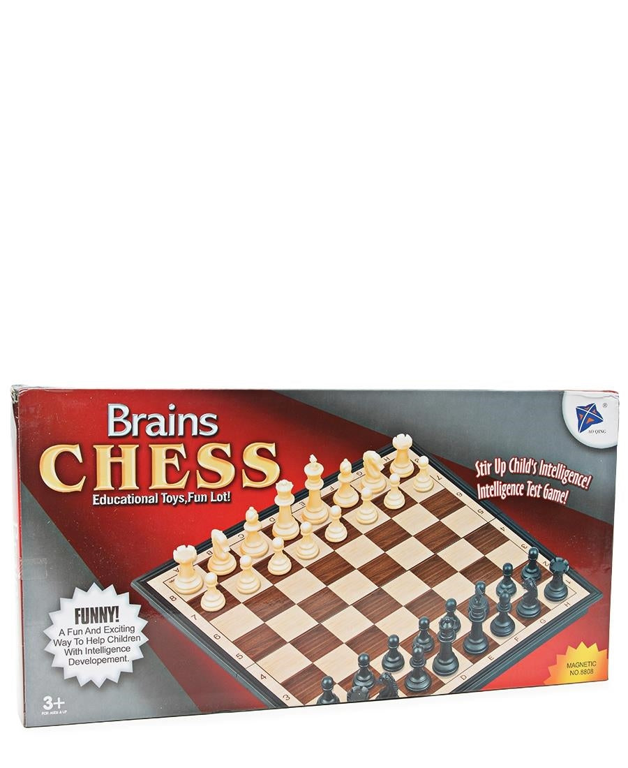 Brains Chess (L) - Beige