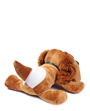 Stuffed Plush Dog - Brown