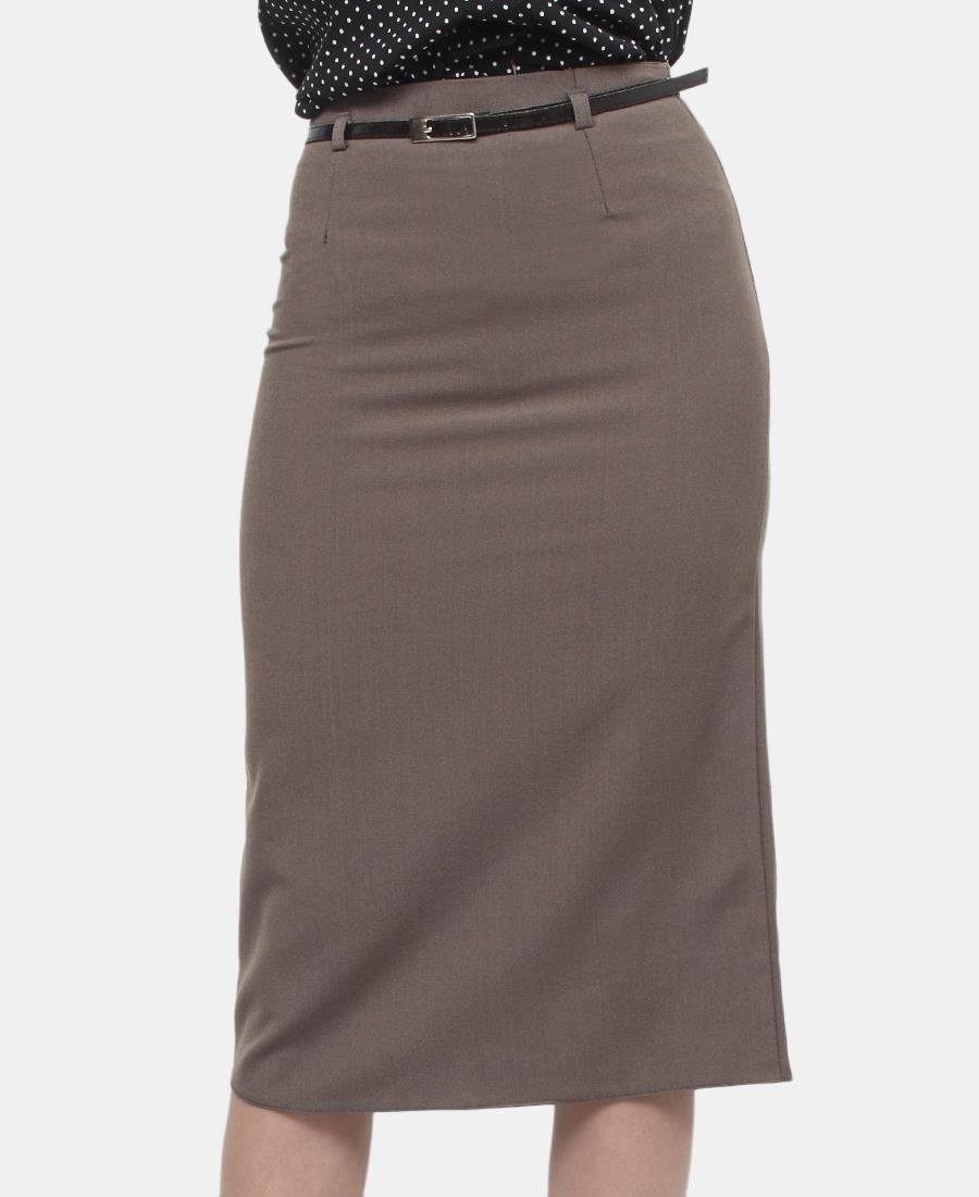 Pencil Skirt - Brown