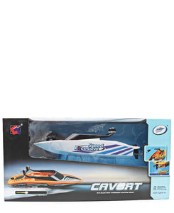 Remote Control Speed Boat - White