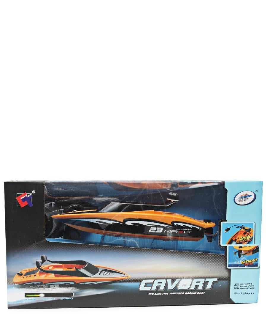 Remote Control Speed Boat - Orange