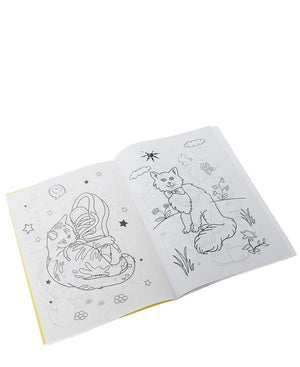 Colouring And Sticker Book  - Multi