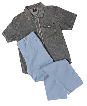 Boys Chinos - Blue