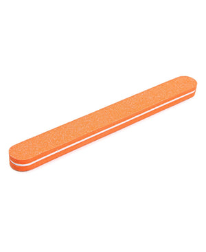 Flexible Sponge Nail Buffer - Orange