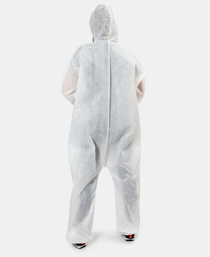 Disposable Coverall 50g Spunbond - White