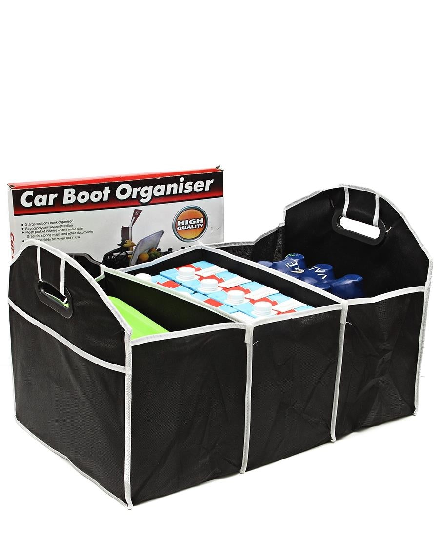 Car Boot Organiser - Black