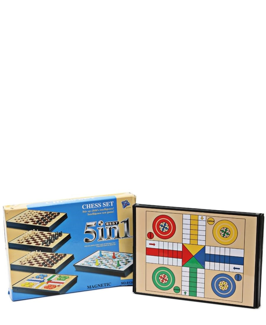 5 in 1 Game Set - Cream