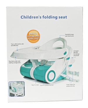 Infants Foldable Table & Chair - White