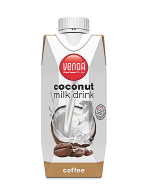 Coffee Flavoured Coconut Milk Drink 330ml - White