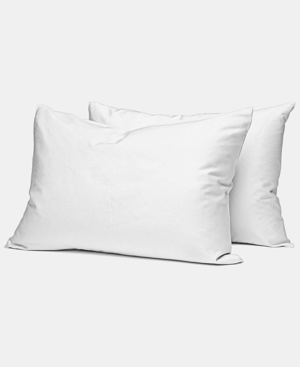 2 Pack 180 Thread Count Horrockses King Size Pillowcases - White