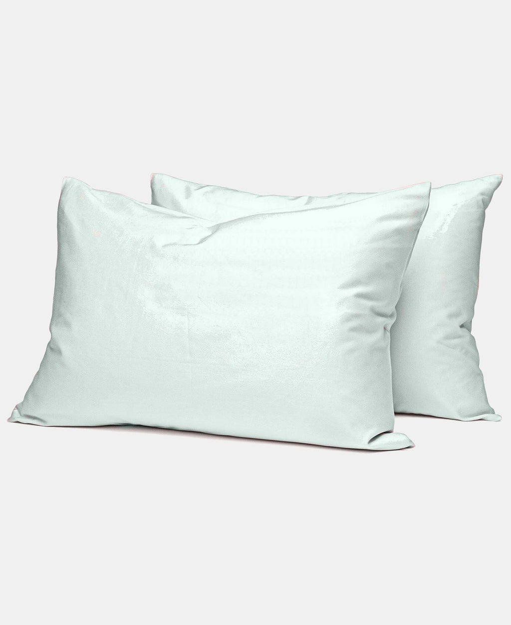 2 Pack 180 Thread Count Horrockses King Size Pillowcases - Duck Egg