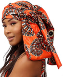 Ethnic Doek - Orange