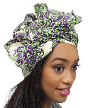 Ethnic Doek - Purple