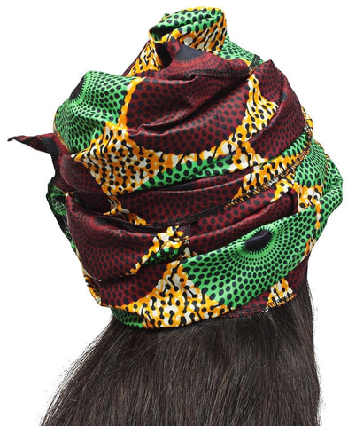 Ethnic Doek - Green