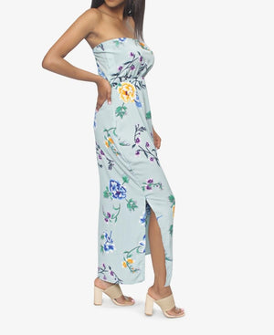 Boobtube Maxi Dress  - Turquoise