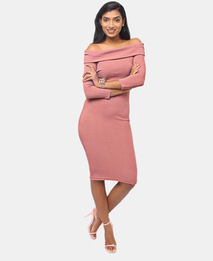 Bodycon Dress - Pink