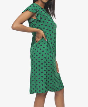 Dress - Green Multi