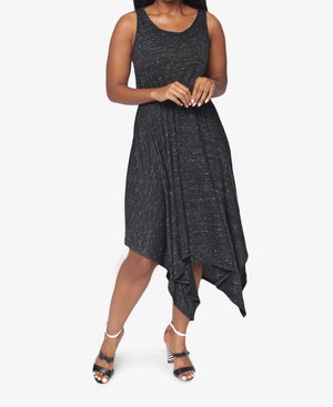 Knit Dress  - Black
