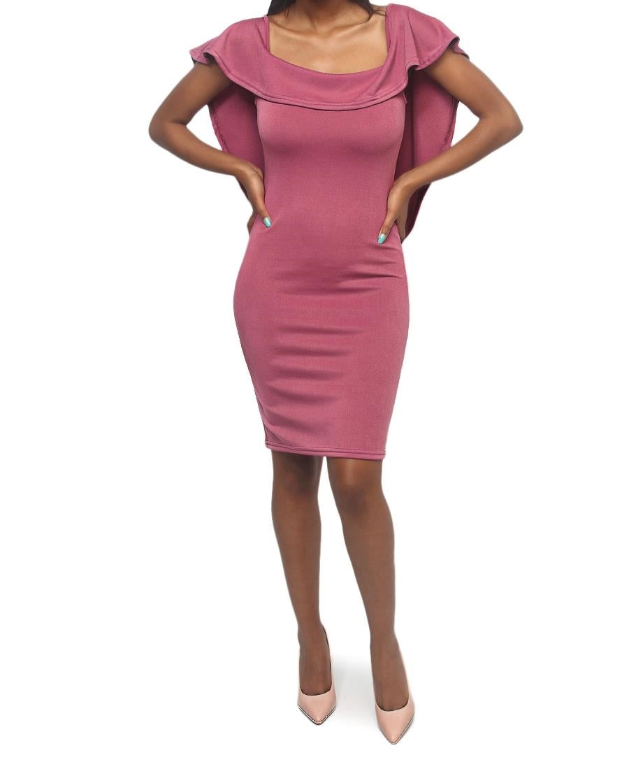 Bodycon Dress - Purple