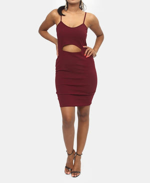 Slip Dress - Burgundy