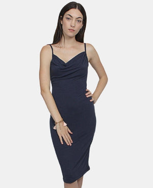 Strappy Dress - Navy