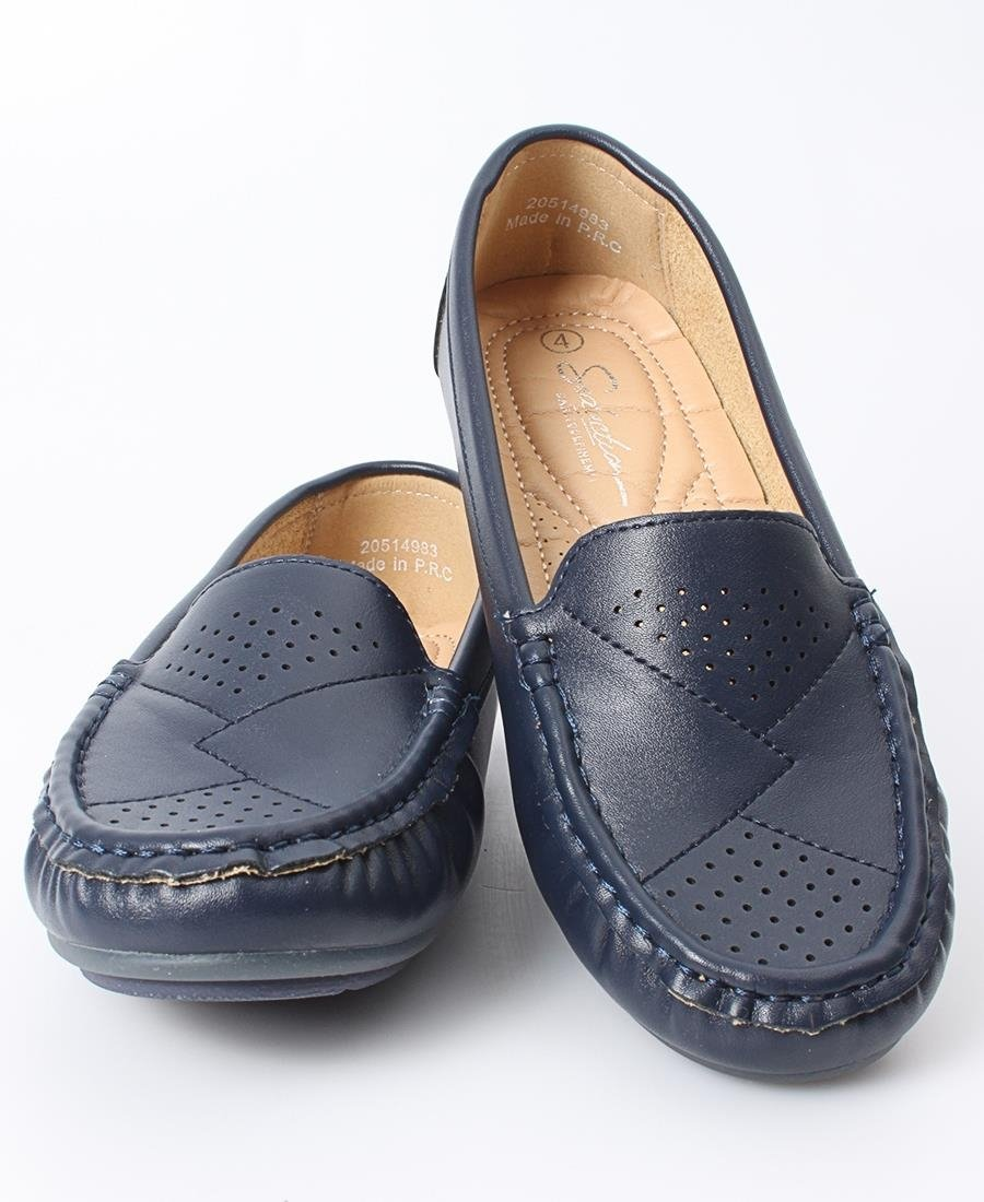 Ladies' Loafers - Navy