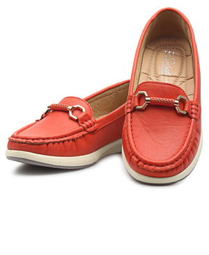 Ladies' Loafers - Coral
