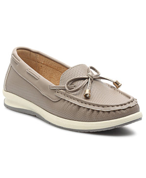 Ladies' Loafers - Grey