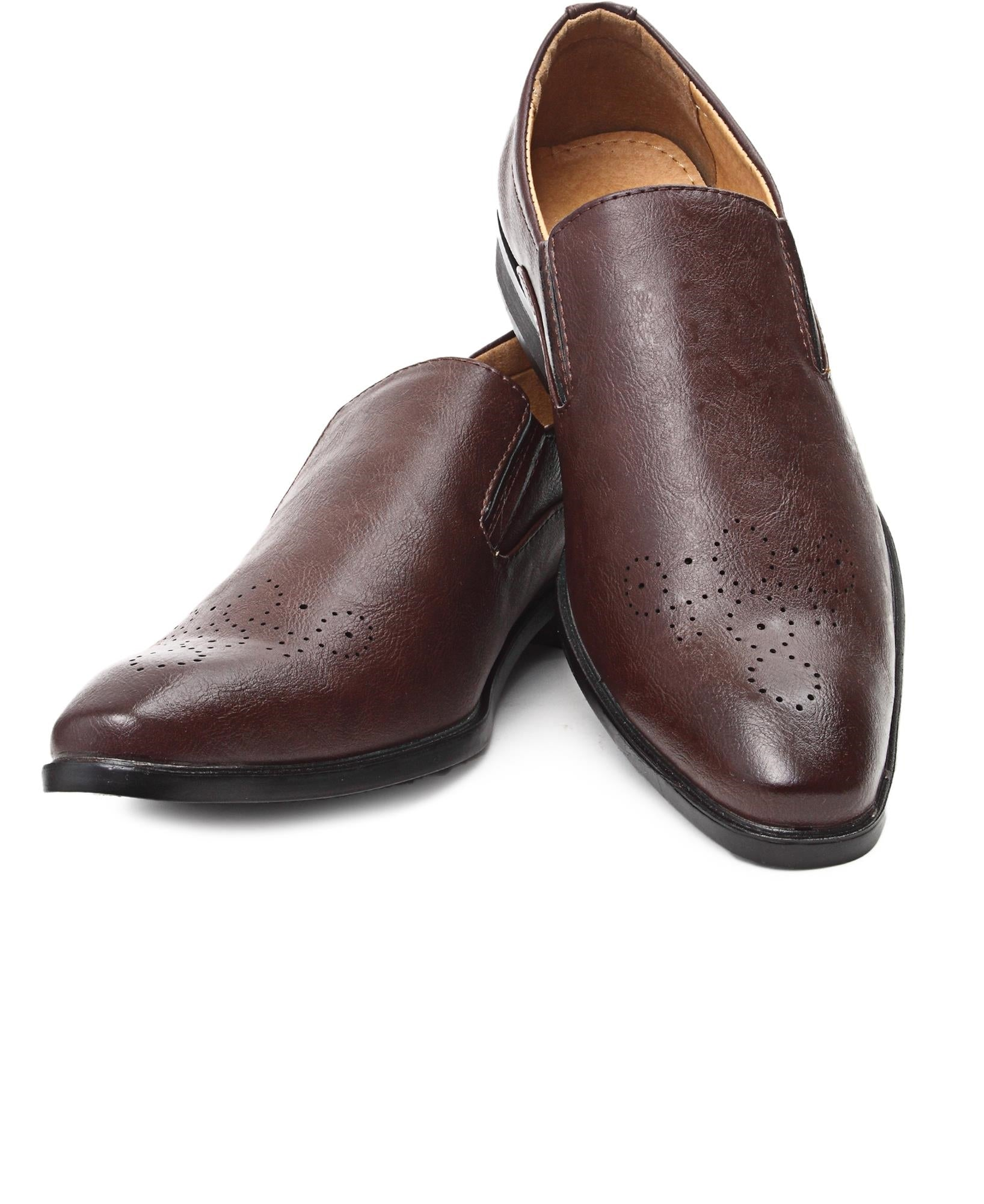 Smart Slip On - Brown