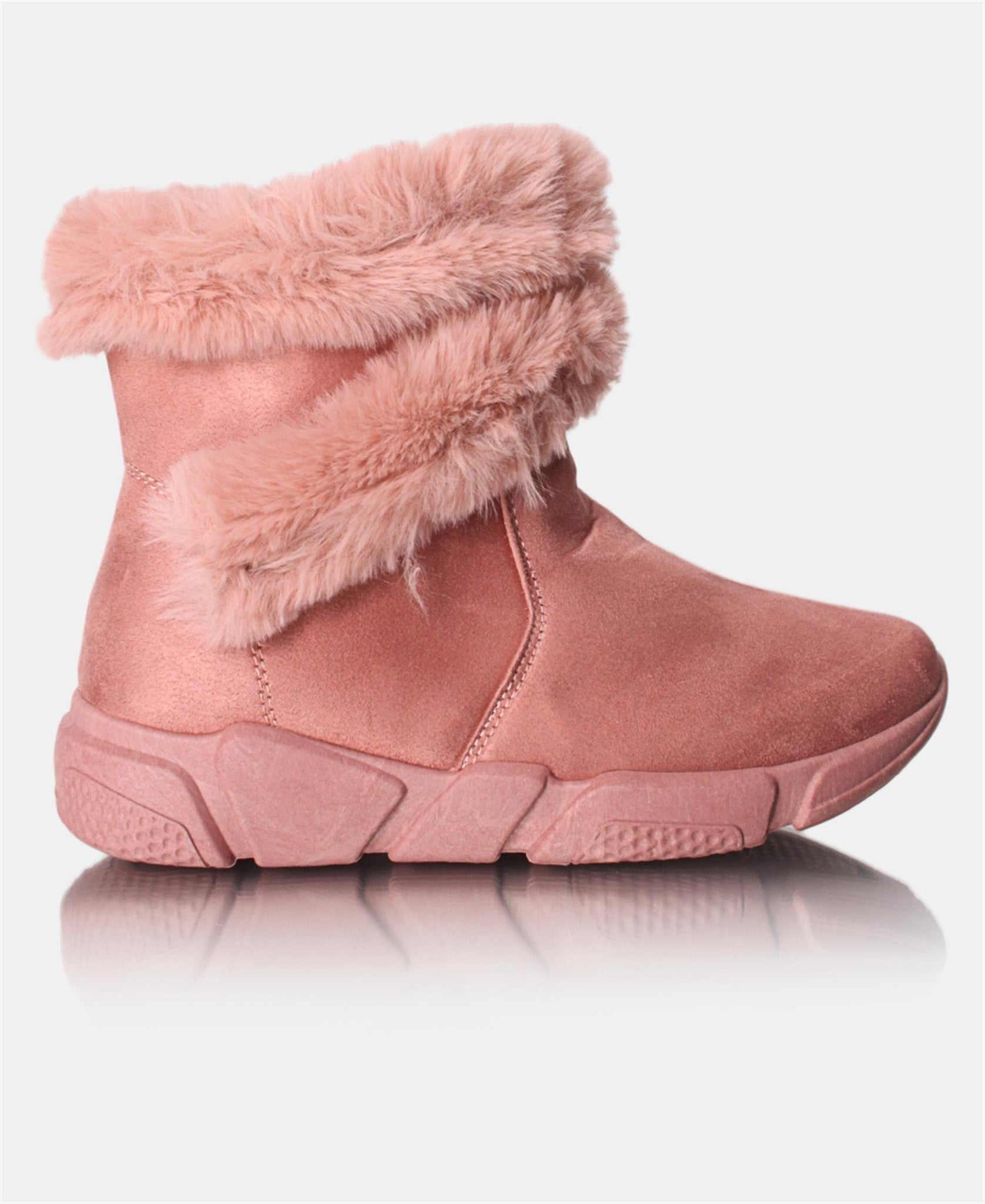 Ladies' Fur Boots - Mink