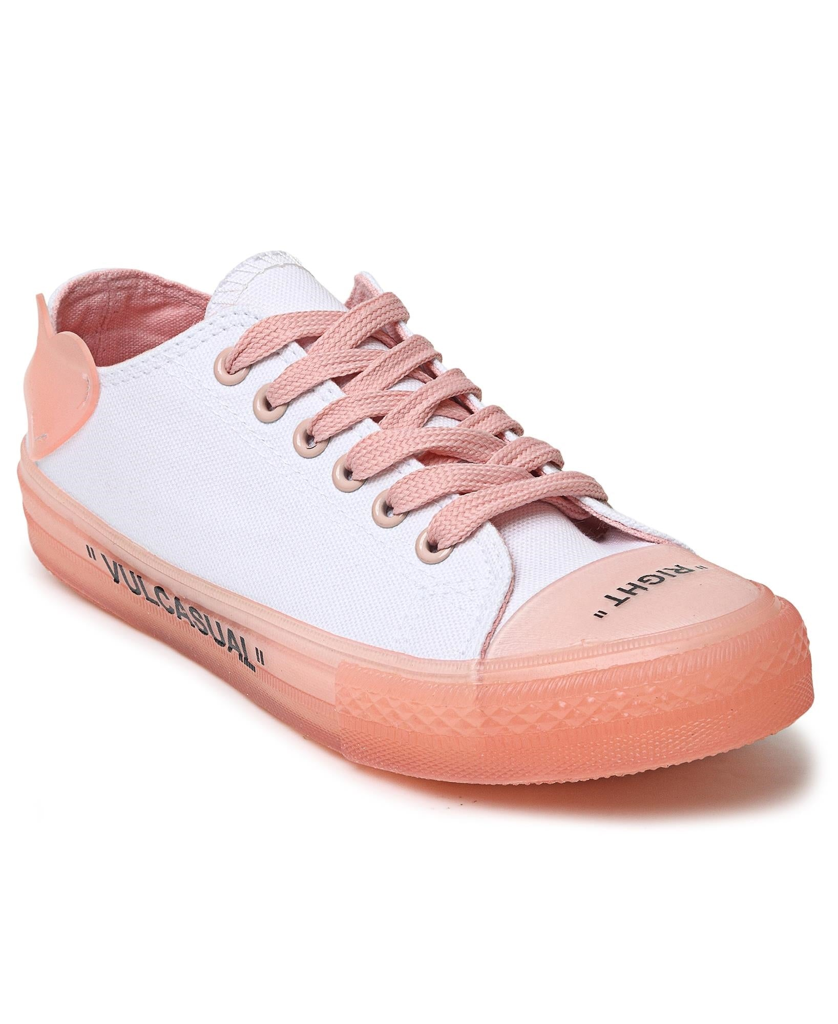 Ladies' Casual Sneakers - Orange