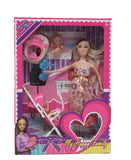 Happy Family Doll Set - Pink