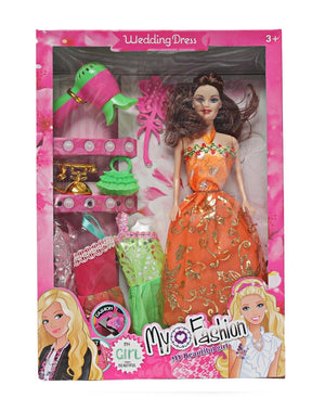 Fashion Doll Set - Orange