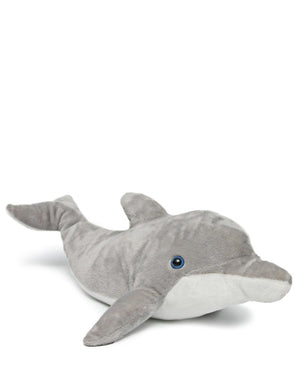Dolphin Teddy Bear - Grey-White