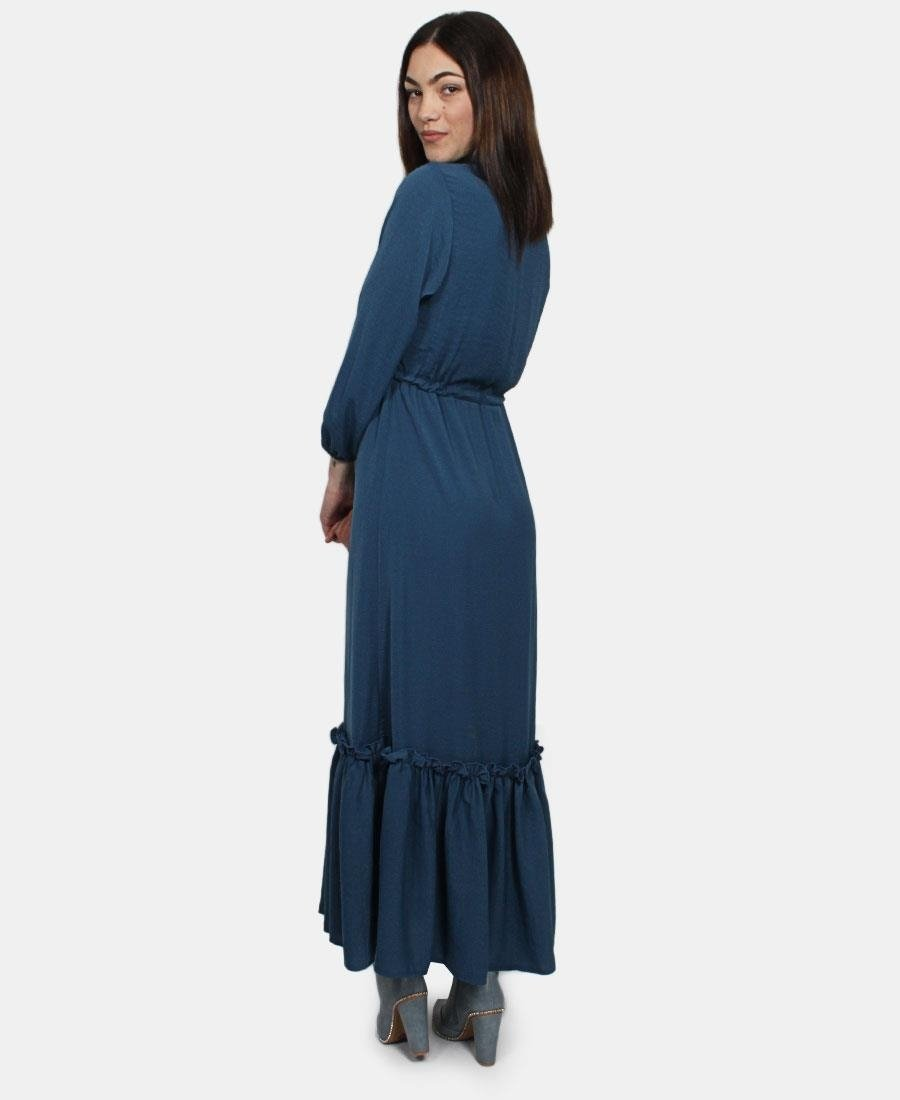 Long sleeve dress - Blue