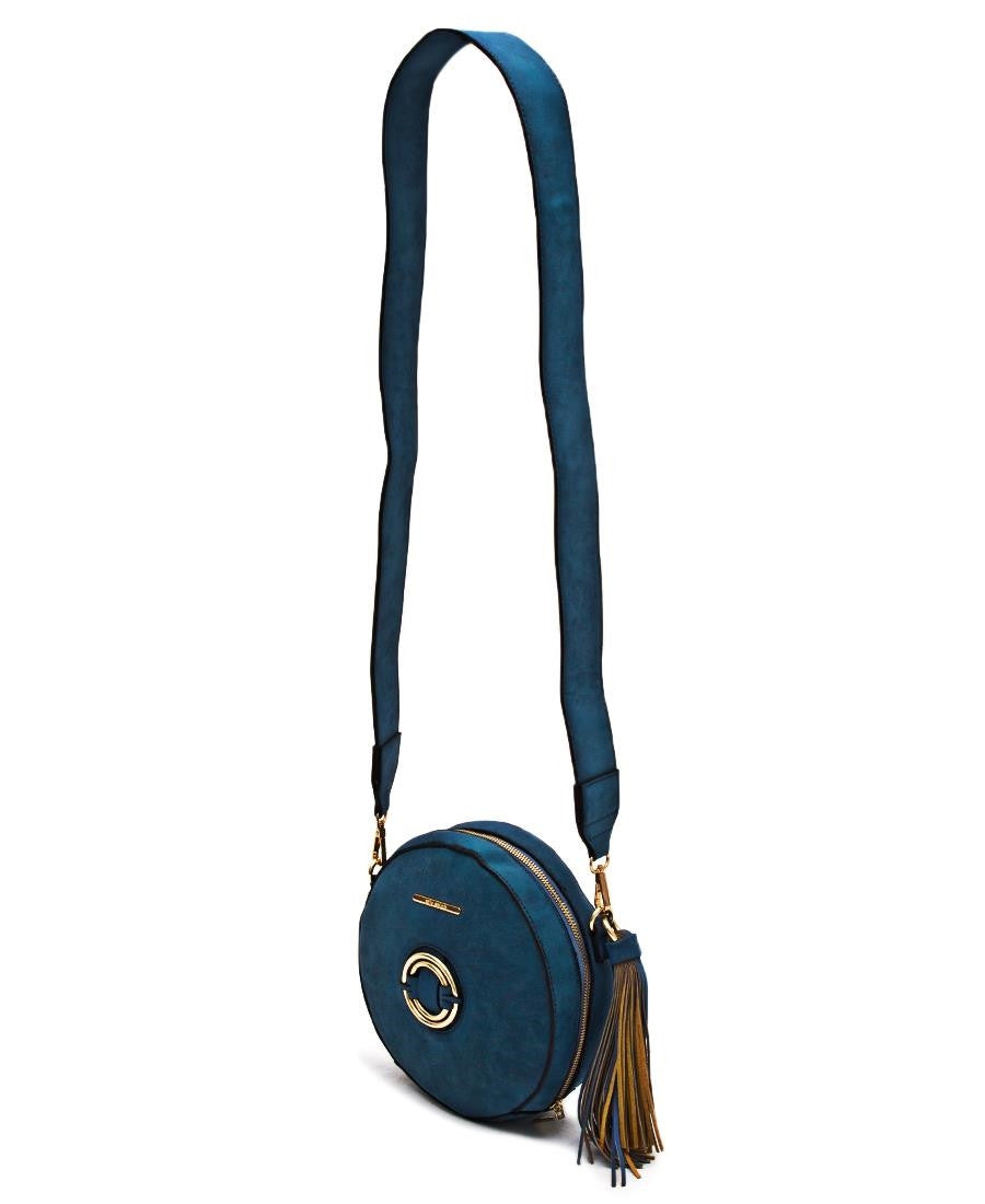 Saddle Bag  - Blue