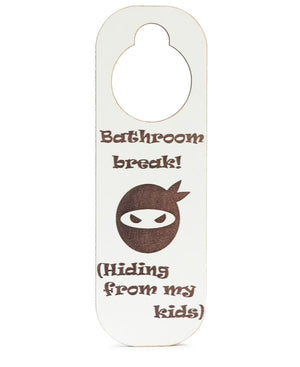 Printed Door Hanger - White