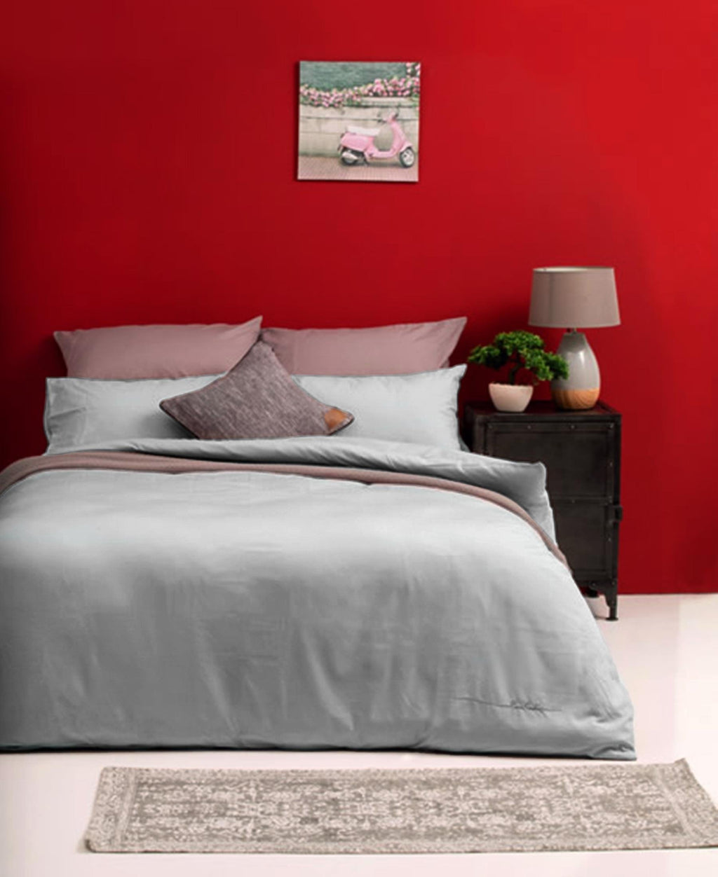 Pierre Cardin 180 Thread Count Lifestyle Duvet Cover - Liaden