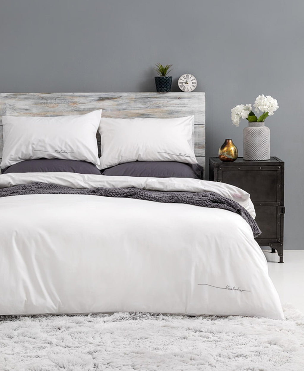 Pierre Cardin 180 Thread Count Lifestyle Duvet Cover - Lily
